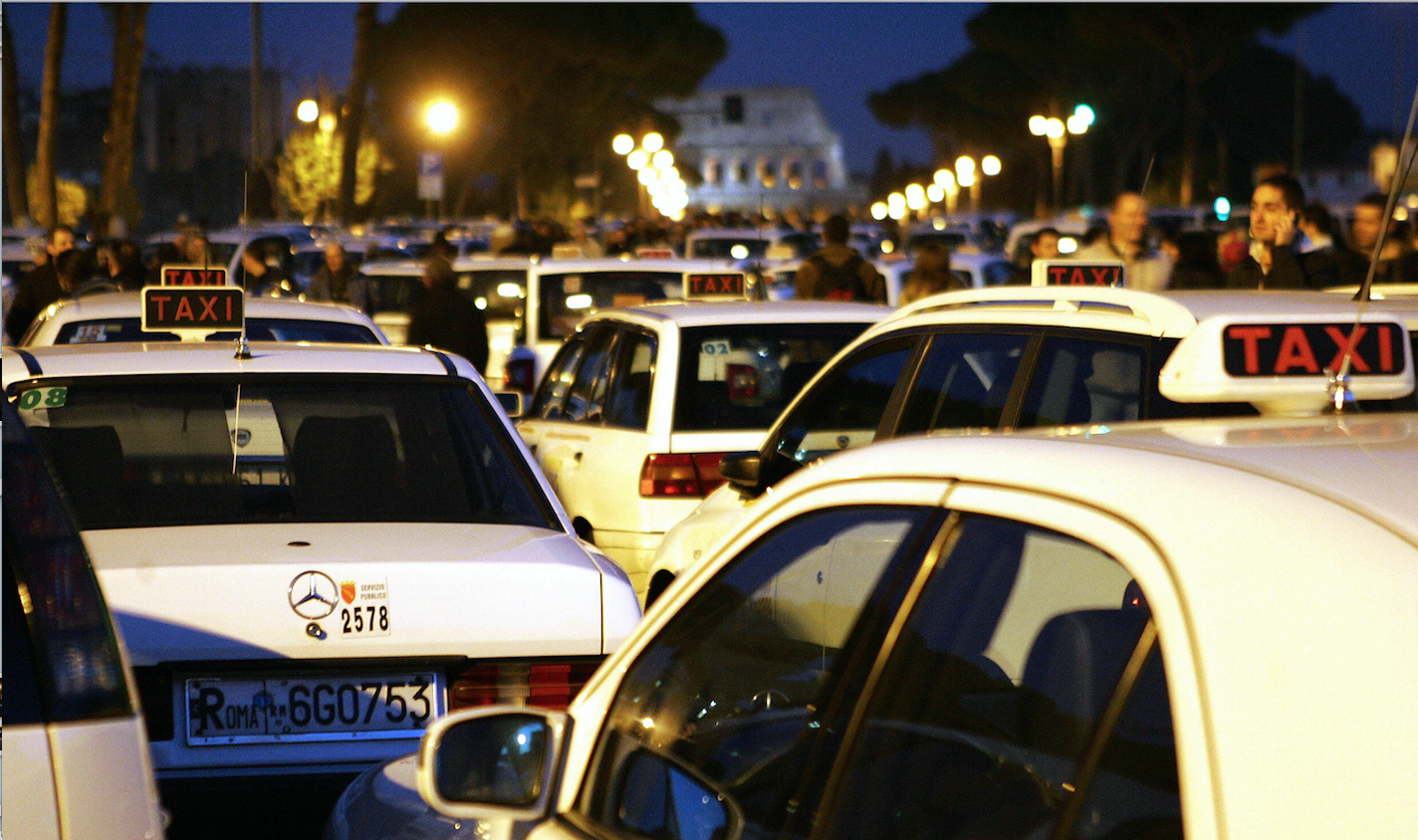 I taxi e la bussola del futuro