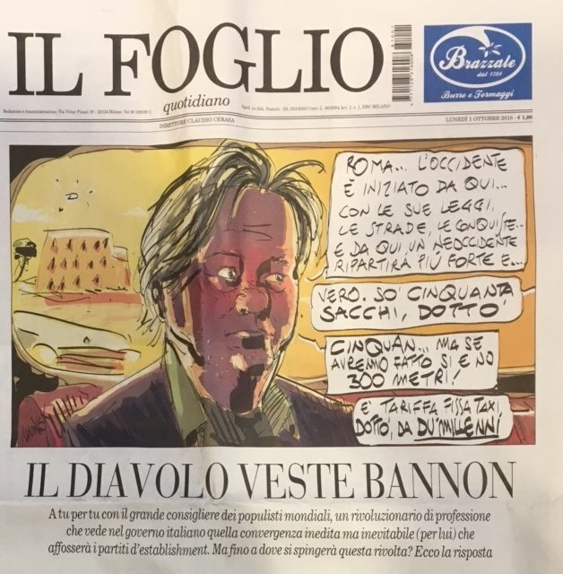 """The Devil wears Bannon"" – By Giuliano da Empoli"