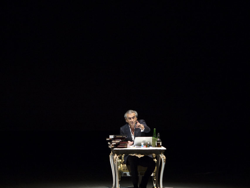 """Volta is partner of """"Looking for Europe"""", a solo play written by Bernard-Henri Levy"""
