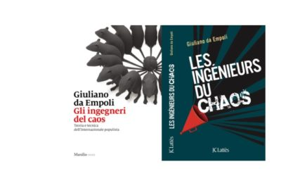 """Les ingénieurs du chaos"", Giuliano da Empoli's new book. International press review"