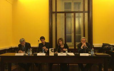 """Presentazione del libro """"Gli ingegneri del caos"""", di Giuliano da Empoli, alla fondazione Marco Besso"""