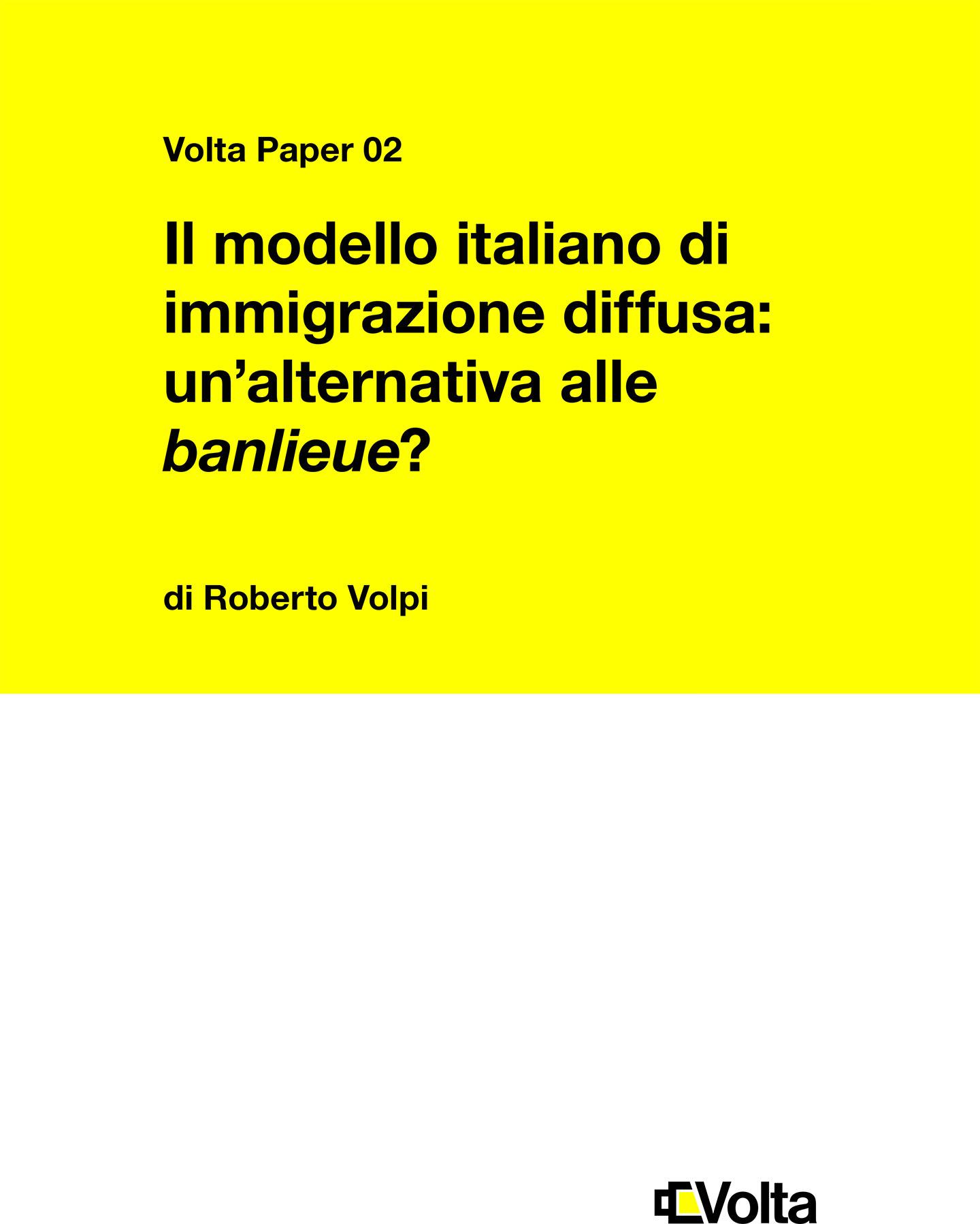 Il modello italiano di immigrazione diffusa