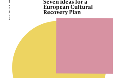 Seven ideas for a European Cultural Recovery Plan
