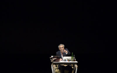 "Volta is partner of ""Looking for Europe"", a solo play written by Bernard-Henri Levy"